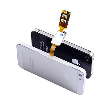 Dual sim card adapter for iPhone 5