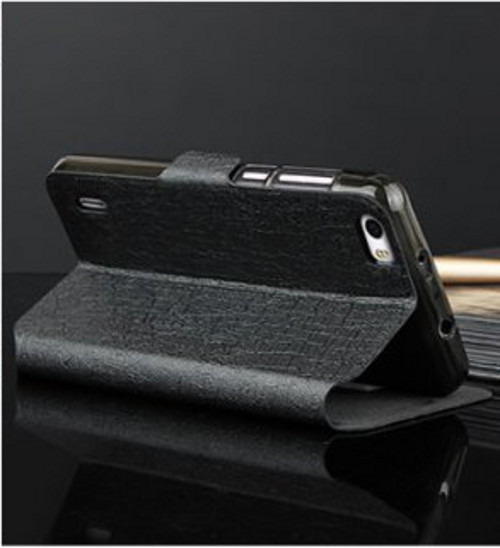 S-View Stand Cover Black for Huawei Honor 6